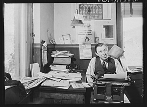 William_N._Young,_publisher_of_the_Record-express,_is_also_its_reporter_and_advertising_man._8d10156v